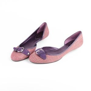 Cole Haan Womens Shoes Ballet Flats Buckle Accent